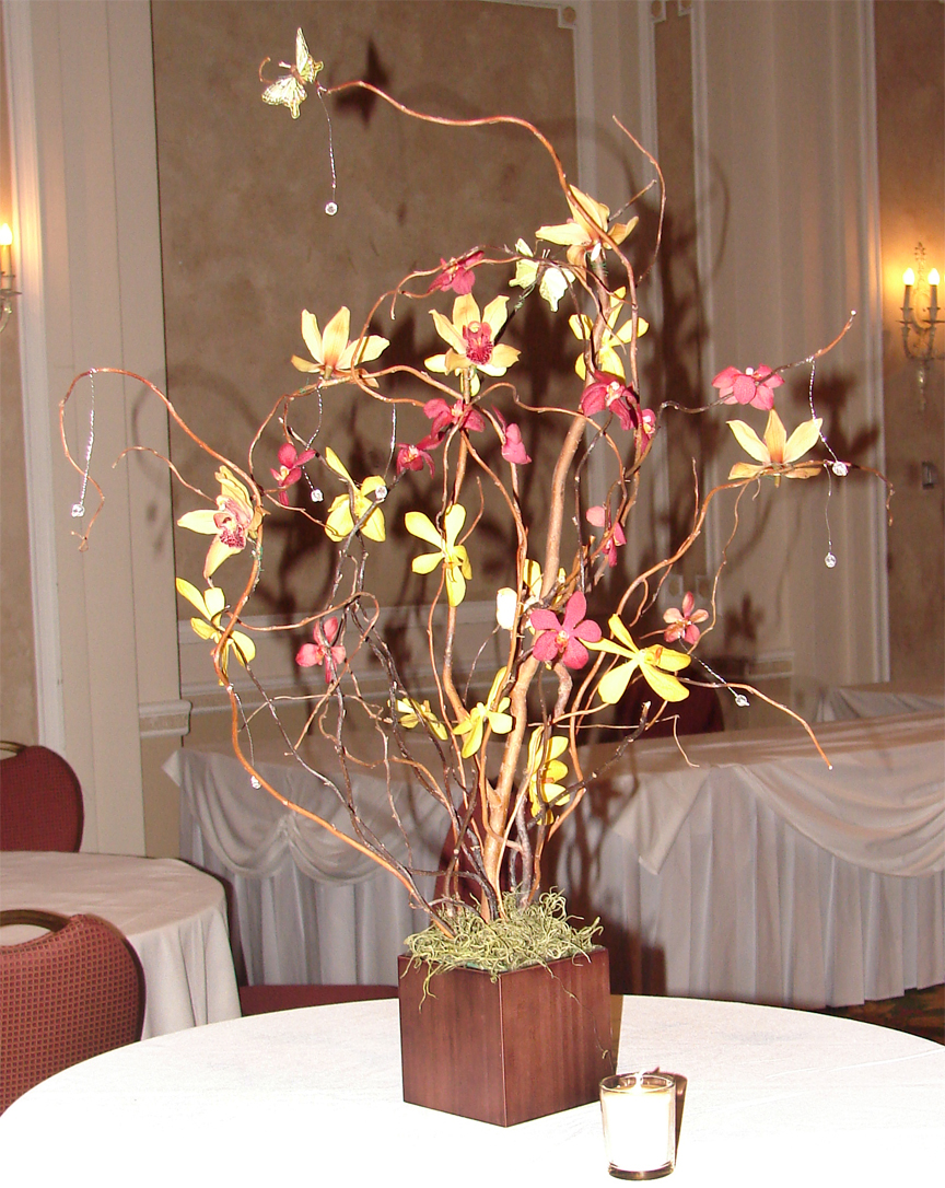 Quon's Orchid Centrepiece