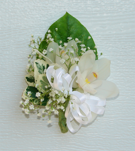 Mother's corsage for Katherine's wedding