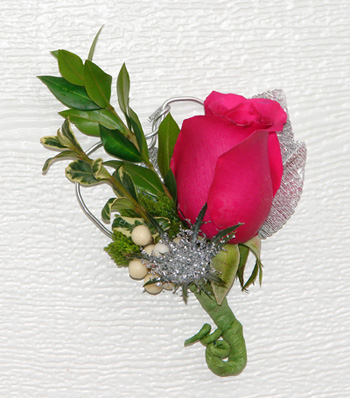 Groom's Rose Boutonniere
